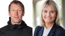 Åsa Bergman och Graham Potter blir nya hedersdoktorer