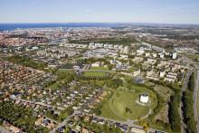 Klart för start på Rosengårdsfältet – radhus, parkytor och odlingsområde