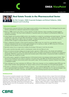 Pharmaceutical Sector ViewPoint