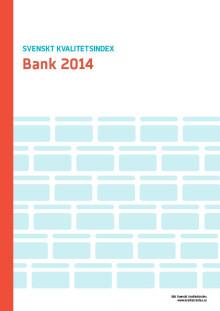 Svenskt Kvalitetsindex om Bankerna 2014