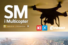 Conrad.se är stolt sponsor av SM i Multikopter