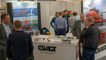 Stor interesse for ESVAGT på WindEnergy-messe Hamborg