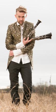 Sprudlande klarinett