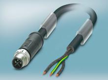 M12 power connectors