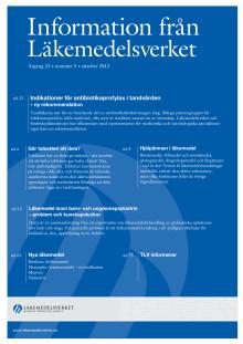 Information från Läkemedelsverket # 5 2012