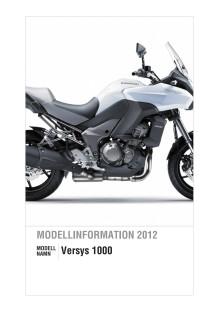 Kawasaki Modellinformation 2012 Versys 1000