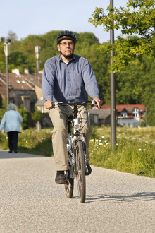 Unterwegs auf zwei Rädern: Auch die Verkehrsregeln müssen sitzen