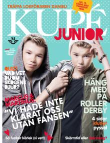 SJ lanserar nytt ombordmagasin för de yngre resenärerna - Kupé Junior