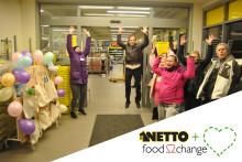 Vi är med i kampen mot matsvinnet!