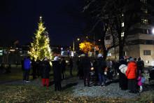 Skaper julestemning i kommunens gårder