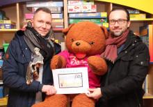 PRIMARK-Mitarbeiter spenden für Bärenherz