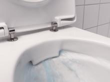 Helt utan spolkant ger nya toalettstolen Ifö iCon Rimfree bättre hygien och enklare rengöring