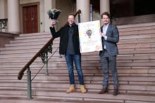 Jusstudent Aksel Høymo tildeles SiOs idépris på 100 000 kr