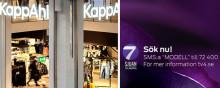 KappAhl söker ny modell i TV