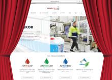 Ny hemsida - www.aromdekor.se