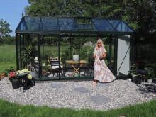 Design by Mirelle har blivit med växthus