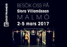 Ekstrands Dörrar & Fönster på Stora Villamässan i Malmö