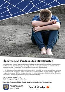 Pressinbjudan: Öppet hus på Vändpunkten i Kristianstad