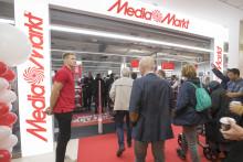 Succé när MediaMarkt öppnade i Täby Centrum