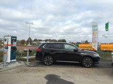 Ny snabbladdare till elbilar i Falkenberg