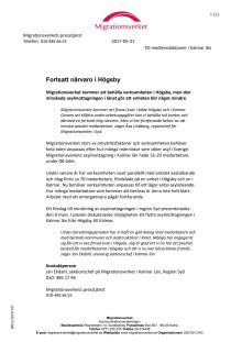 Migrationsverket blir kvar i Högsby