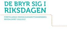 Carina Adolfsson Elgestam (S) och Hans Backman (FP) vinnare i årets riksdagsledamotsgranskning