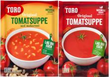Utvider tilbakekalling av tomatsuppe