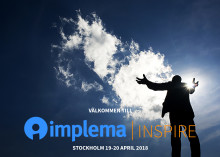 ​Årets affärssystemevent: Implema Inspire 19 – 20 april 2018.