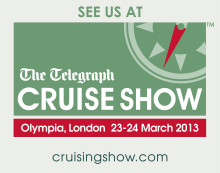 Find out from Fred. Olsen Cruise Lines' at the Telegraph CRUISE Show, Stand D40, London Olympia