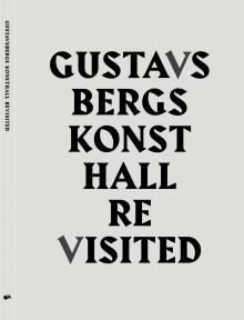Omslag boken Gustavsbergs Konsthall Revisited