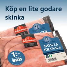 Jakobsdals Charkuteri sponsrar BRIS -  skänker 1 kr/hekto skinka