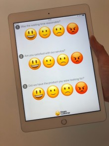 HappyCustomer is now available in a further developed version for the App Store.