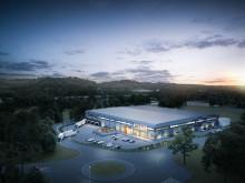 Logistic Contractor bygger svenskt huvudkontor och  produktionsanläggning för HydraSpecma