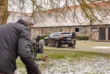 Douglas Lindelöw är Volvos Cars nya säkerhetsambassadör i samband med Gothenburg Horse Show