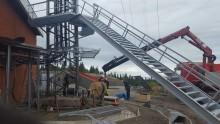 Mastbyggnationen i Tåsjö når viktigt delmål