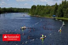 Santander Consumer Bank är officiell partner till Vansbrosimningen