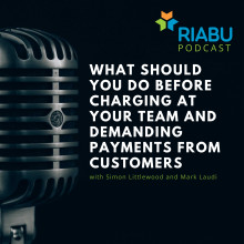 What should you do before you go charging at your team and demanding payments from customers