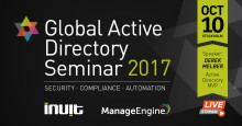 Global Active Directory Seminar 2017