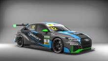 42 bilar till start i ADAC TCR Tyskland med Simon Larsson i Audi RS 3 LMS