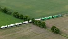 Scanlogs och Green Cargos samarbete minskar koldioxidutsläpp för Findus genom direkt tågförbindelse mellan Sverige och Italien