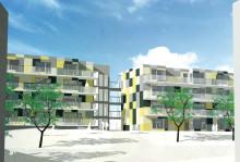 Vi bygger 52 hyresrätter i Kyrkbyn - välkommen till första spadtaget
