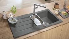 So schlicht, so stylish, so vielseitig – Grau: Die perfekte Farbe für trendige Küchengestaltungen