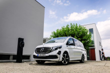 Mercedes-Benz EQV: Världspremiär för första eldrivna minivanen i premiumklassen