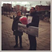 Theo Papaioannou i P4 Göteborg med anledning av Årets Hisingsprofil 2012
