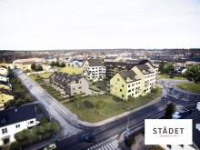 Finnvedsbostäder har startat byggnation av kvarteret Städet.