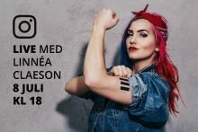 LIVE: Samtal med Linnéa Claeson