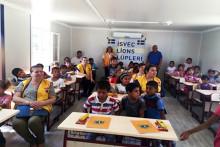 Sveriges Lions hjälper flyktingbarn i Turkiet