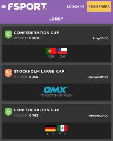 FSport.net lanserar aktiespel för Stockholmsbörsen