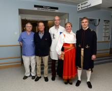 Röntgenkliniken i Mora nu officiellt döpt till Seldingerkliniken