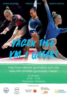 Genrep i kvinnlig artistisk gymnastik inför VM